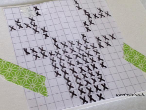 Stickpostkarte