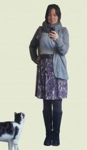 Sommerrock mit Katze